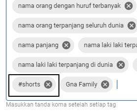 cara membuat Shorts video youtube