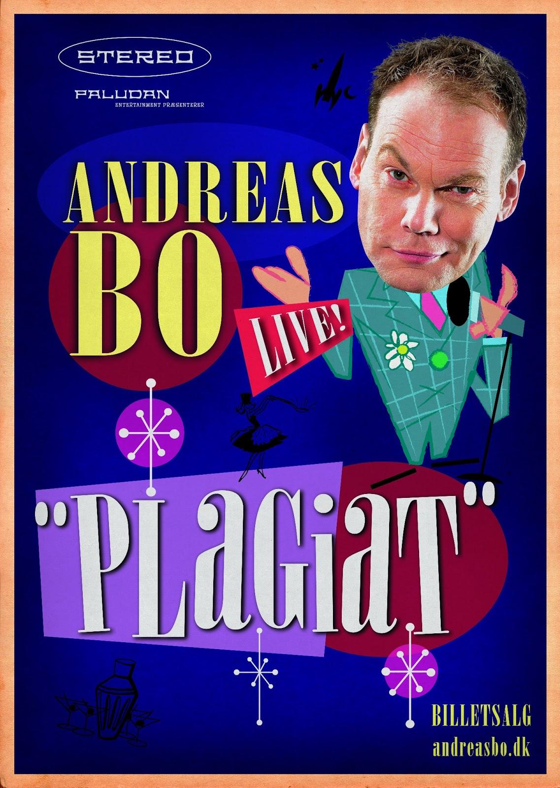 Andreas Bo, Plagiat, standup, live, anmeldelse, show, portalen greve, parodi, sjov, grin
