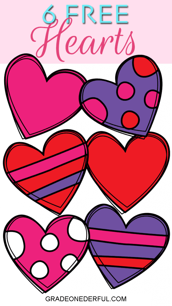 14 Days of Valentine Clip Art Freebies: Hearts