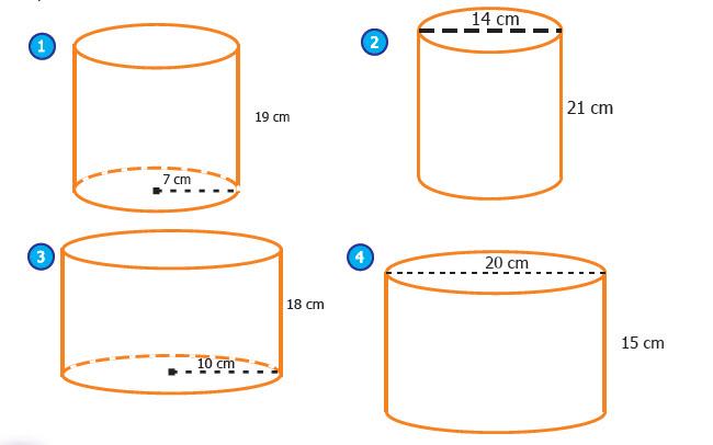 Tabung atau silinder adalah bangun ruang tiga dimensi yang dibentuk oleh dua buah lingkara Menentukan Volume Tabung atau Silinder