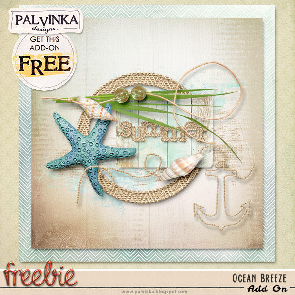 Ocean Breeze Collection and Freebie