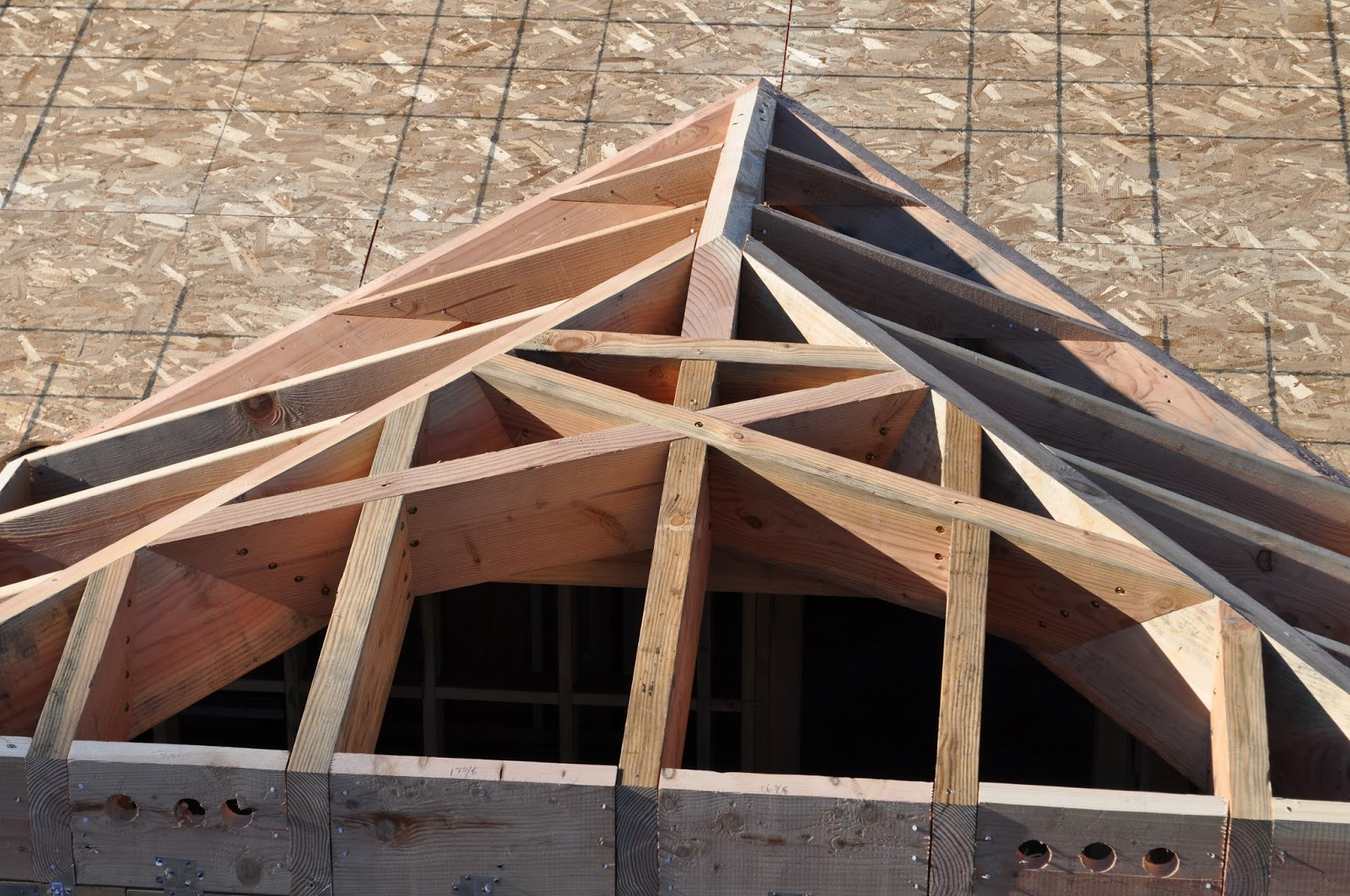 Roof Framing Geometry Divers Hip Rafters With Saint Andrews Cross