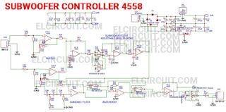 Subwoofer Controller Low Pass Filter