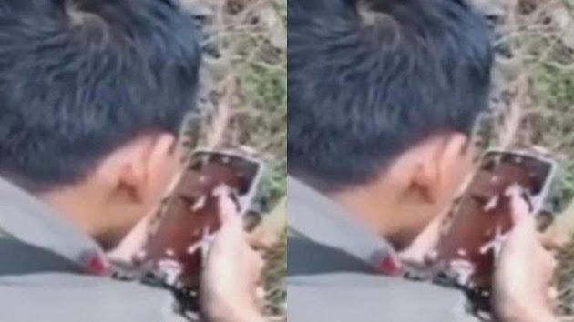 VIRAL !!! Di Tengah Tugas Beratnya Kejar Teroris MIT, Anggota Brimob Ini Sempatkan Diri untuk Adzankan Anak Pertamanya Lewat Video Call, Perekam: Jangan Menangis, Kau Harus Kuat!