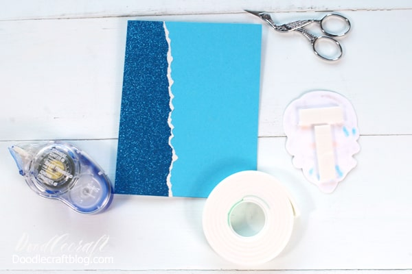 Card Making tutorial with rubber stamped image from The Greeting Farm colored with Tombow ABT Pro Alcohol Ink Markers.