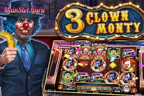 Main Gratis Slot 3 Clown Monty (Play N GO) | 96.23% RTP
