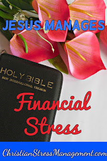 Jesus manages financial stress