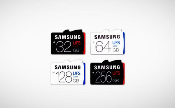 SAMSUNG debuts world's first Universal Flash Storage (UFS) memory cards
