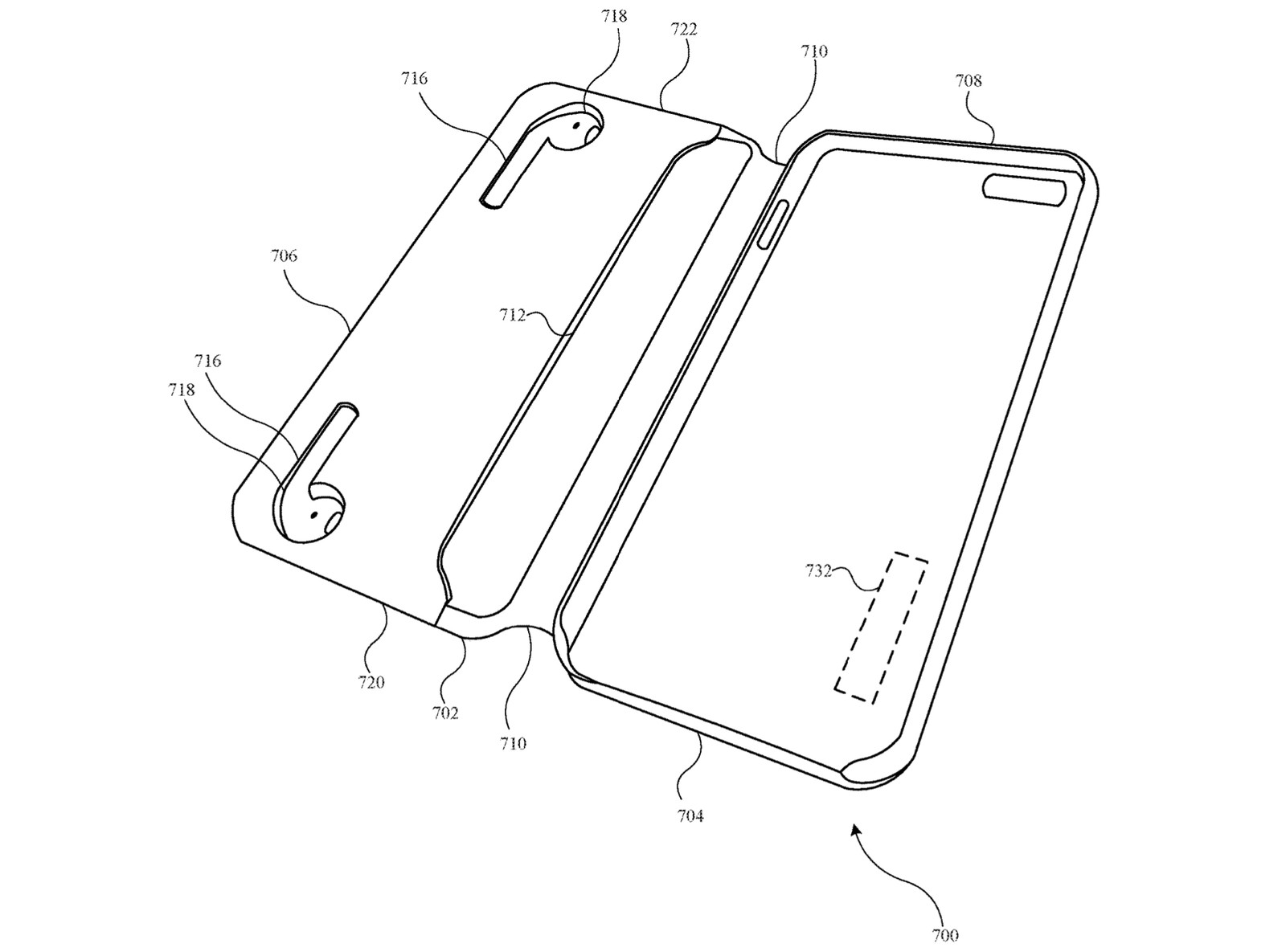 Patent Reveals Apple Working On iPhone Cases That Charge AirPods