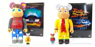 Designer Con 2020 Exclusive Back to the Future Be@rbrick Sets by kaNO x Medicom Toy