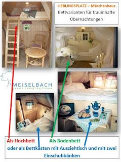 Märchenhaus mit Betten