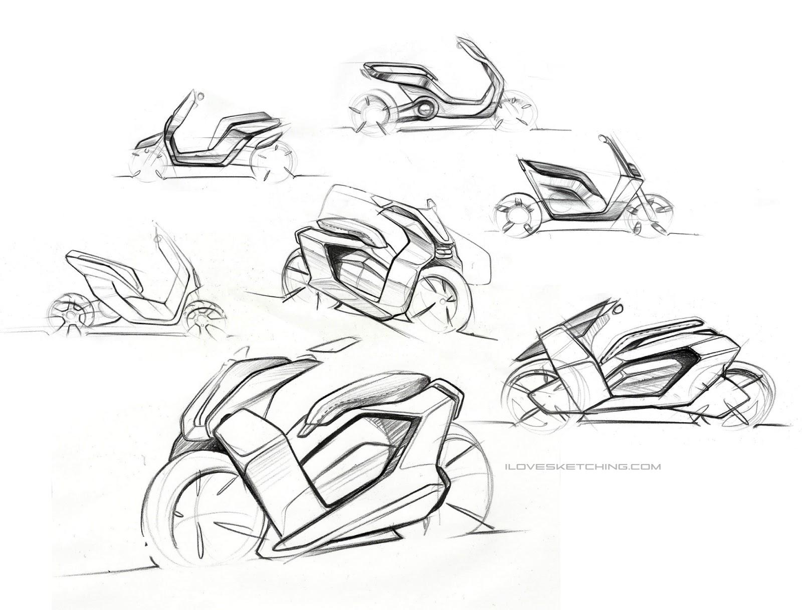 I Love Sketching Volturo