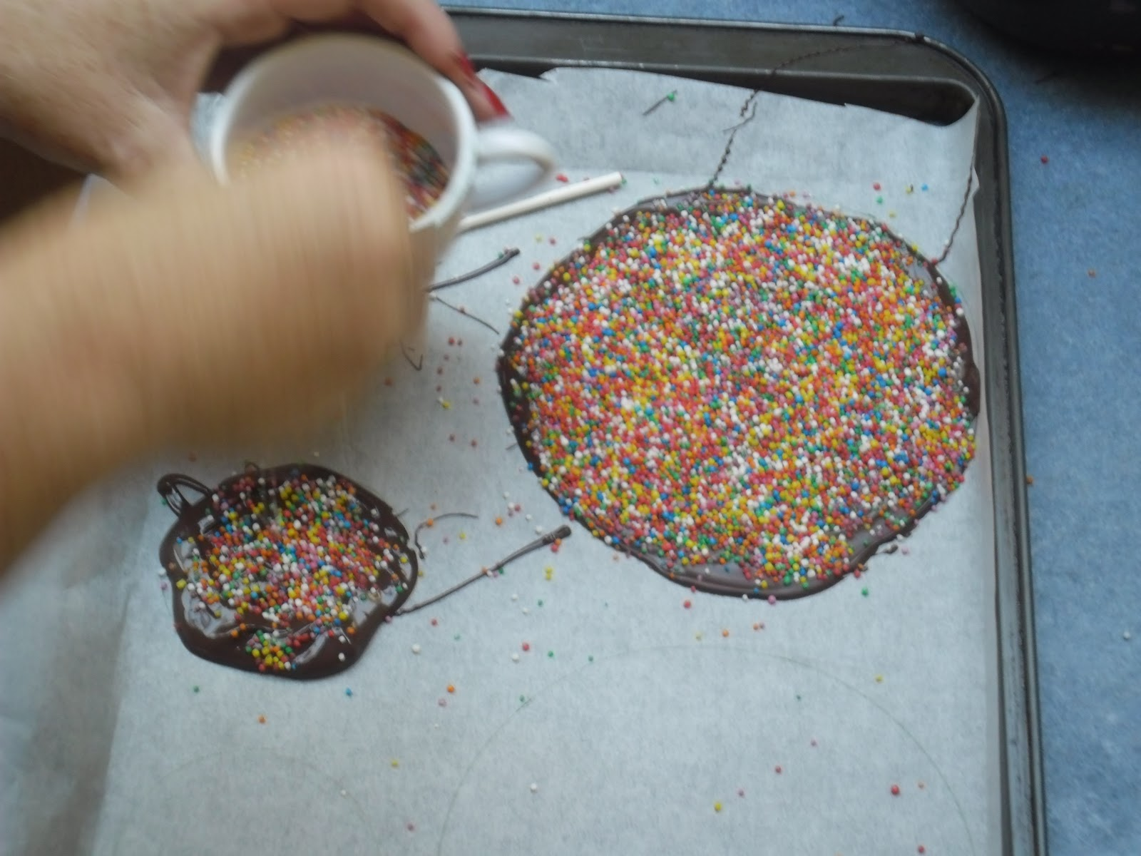 Mysydneykitchen  Giant Chocolate Freckles And Freckle Pops