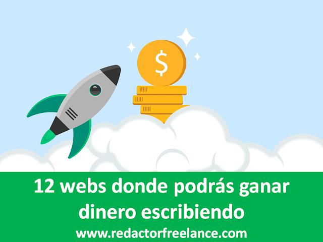 12 webs donde podrás ganar dinero escribiendo