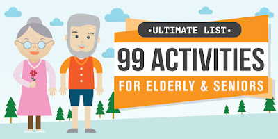 Banner for 99 Activities for older people
