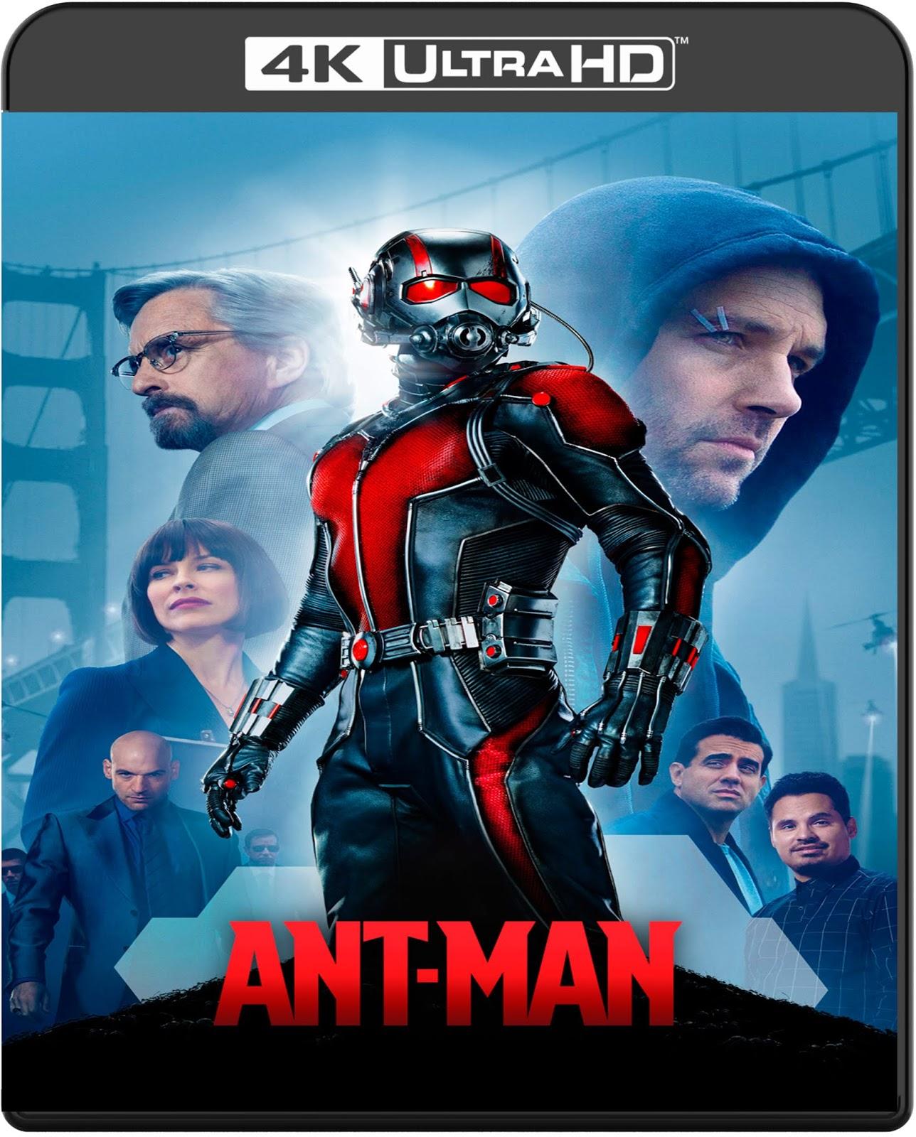 Ant-Man [2015] [UHD] [2160p] [Latino]
