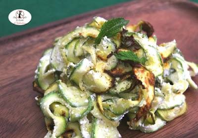 zucchine-menta-creme-fraiche-friggitrice-ad-aria