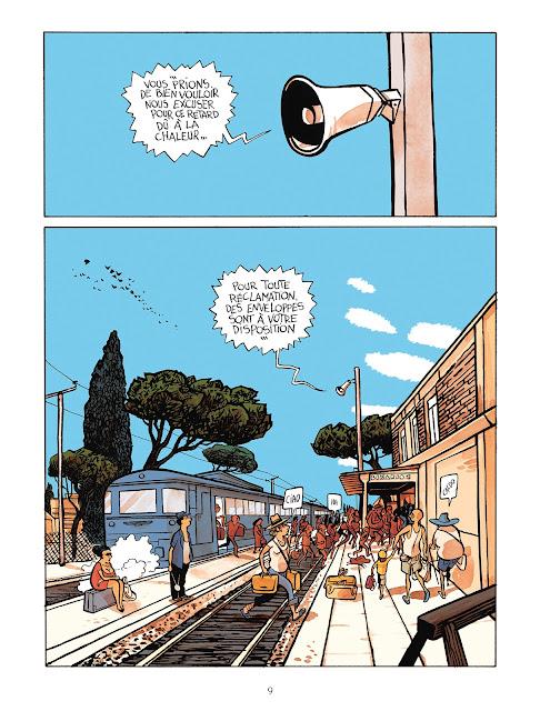 Page de Senso de Alfred chez Delcourt