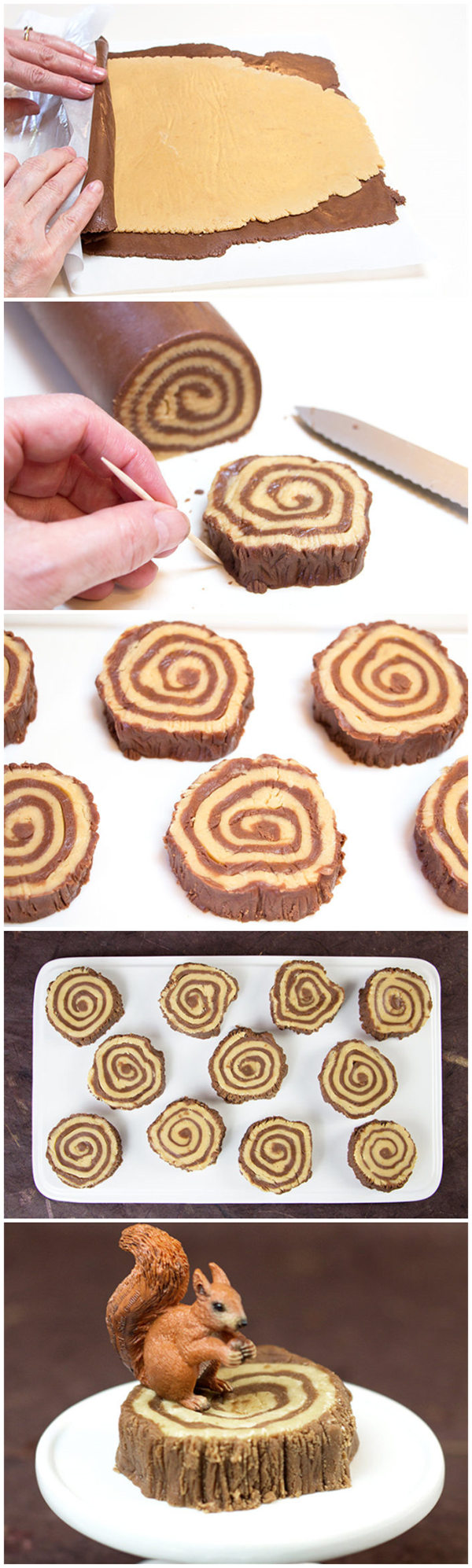 Lumberjacks Rejoice! A Recipe For Fudge Tree Rings