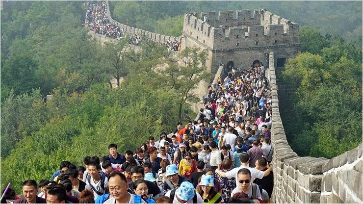 Более 637 миллионов человек посетили Китай