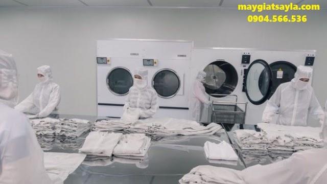 Những lý do bệnh viện nên dùng máy giặt công nghiệp