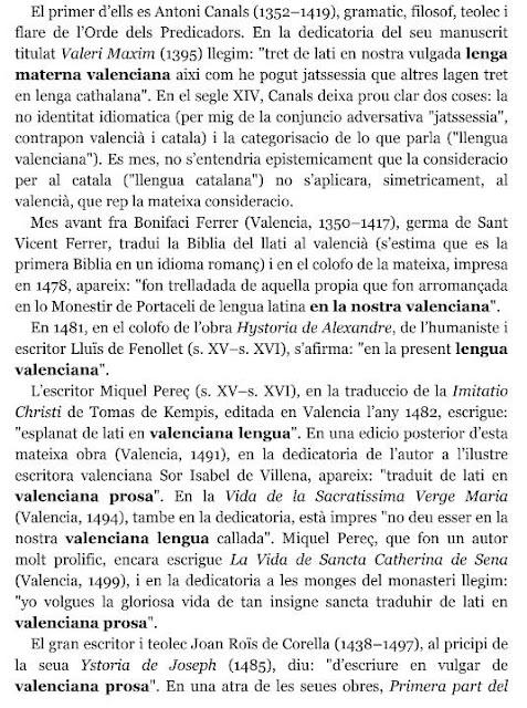 M. Gimeno Juan; Une approche de l'histoire de la langue valencienne, 2018