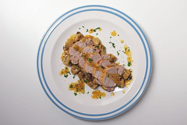 Συνταγή για Χοιρινό Φιλέτο με μανιτάρια