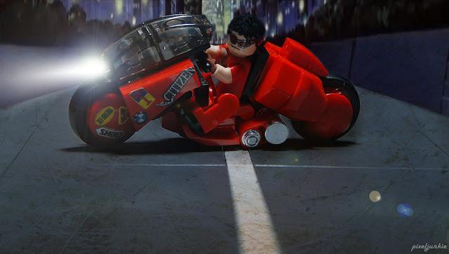 Akira Power Bike by PixelJunkie