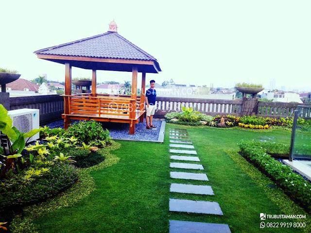 jasa pembuatan taman Rooftop jakarta