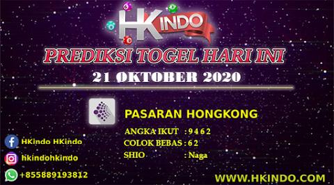 PREDIKSI TOGEL HONGKONG HARI INI 21 OKTOBER 2020