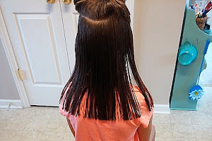 How to Cut Girls Long Hair at Home