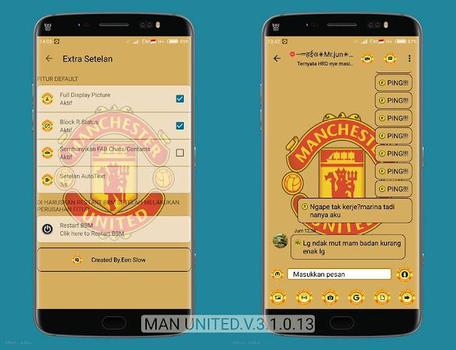 BBM Manchester United 2