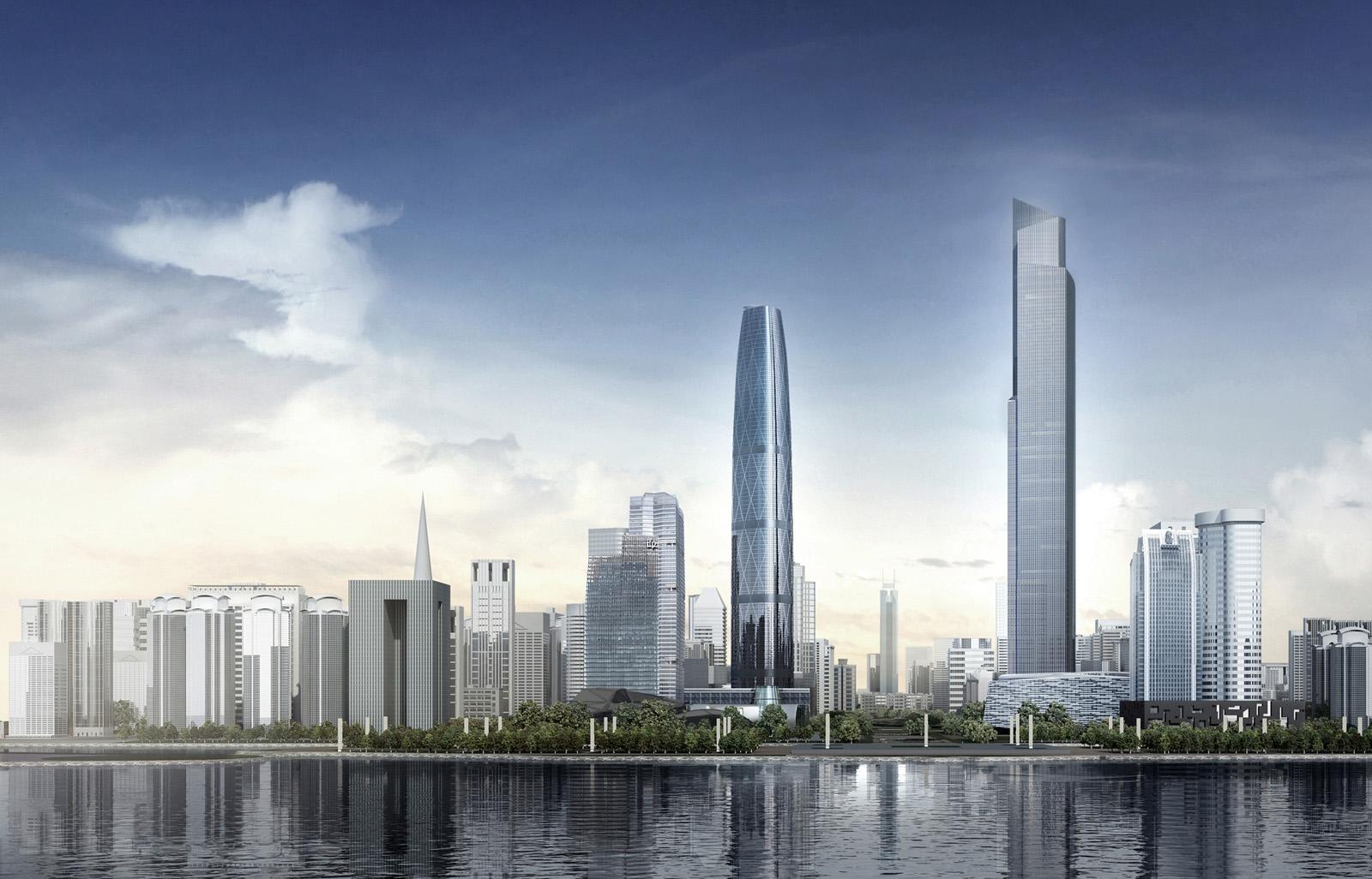 Modern Cabinet: The Chow Tai Fook Skyscraper, Guangzhou, China
