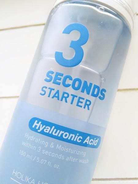 Holika Holika 3 Seconds Starter Hyaluronic Acid hoitoneste