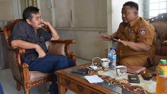 Perkuat Kerjasama Media, Kabag Humas Padang Kunjungi Harian Rakyat Sumbar