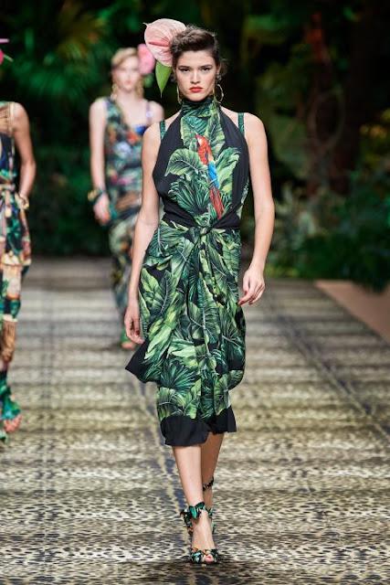 Модное платье весна-лето 2020 9