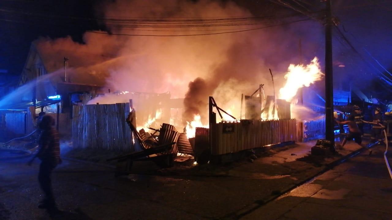 Incendio Francke Osorno