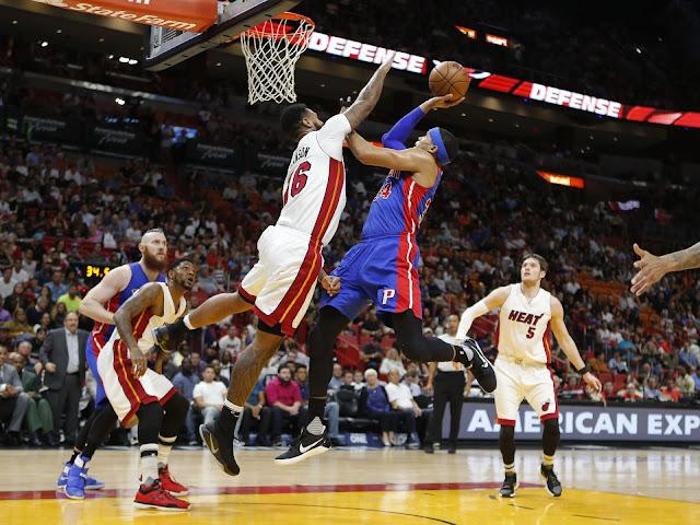 Harris dans la défense du Heat | PistonsFR actualité des Detroit Pistons en France