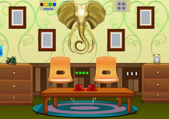 Play Decorated Domicile Escape