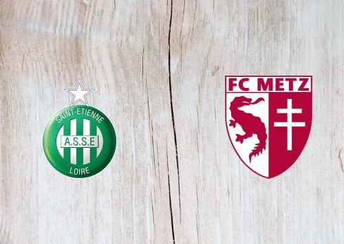 Saint-Etienne vs Metz -Highlights 07 February 2021