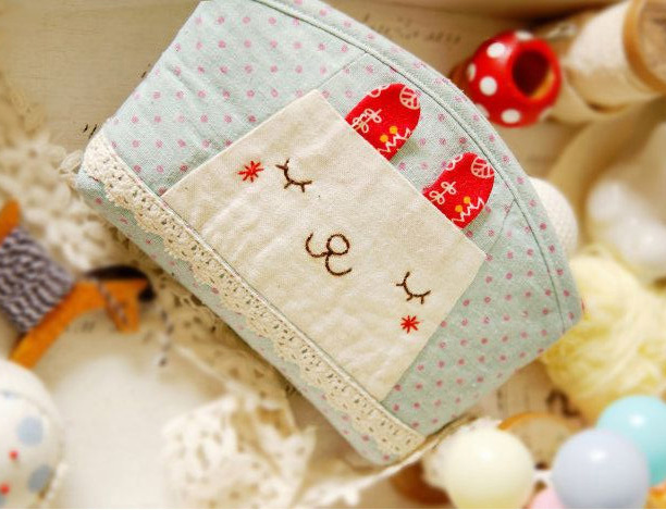 Pencil Case or Cosmetic Bag. How to sew. DIY Photo Tutorial