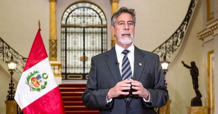 MENSAJE A LA NACIÓN: Presidente Francisco Sagasti ofrece esta tarde un pronunciamiento al país (Viernes 18 Junio 2021) EN VIVO
