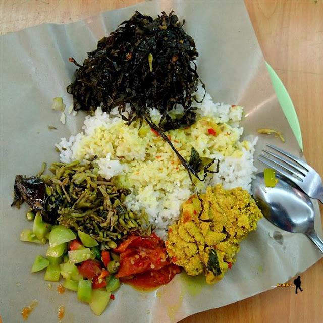 sayur daun kluwek, hidangan khas manado