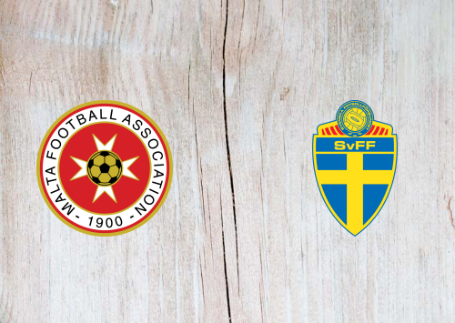 Malta vs Sweden -Highlights 12 October 2019