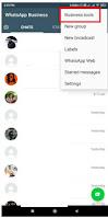 whatsapp business catalog link