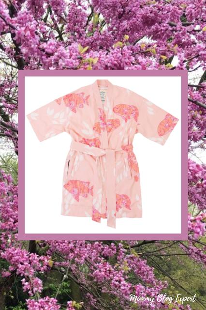 California Cowboy La Sirena Womens Kimono Spa Robe