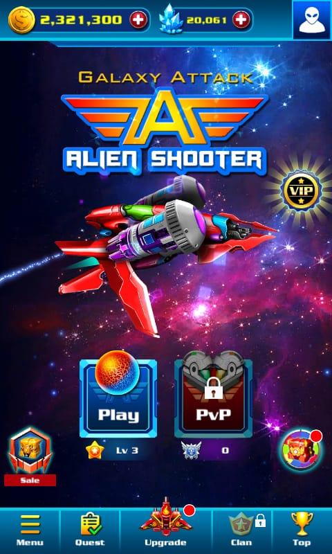 تحميل لعبة alien shooter مهكرة