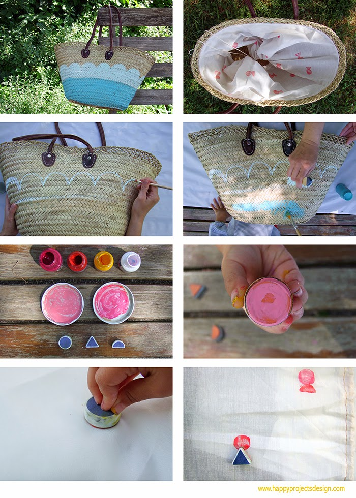 DIY: paso a paso pintar cesto con chalk paint