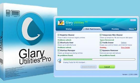 files by using glary utilities