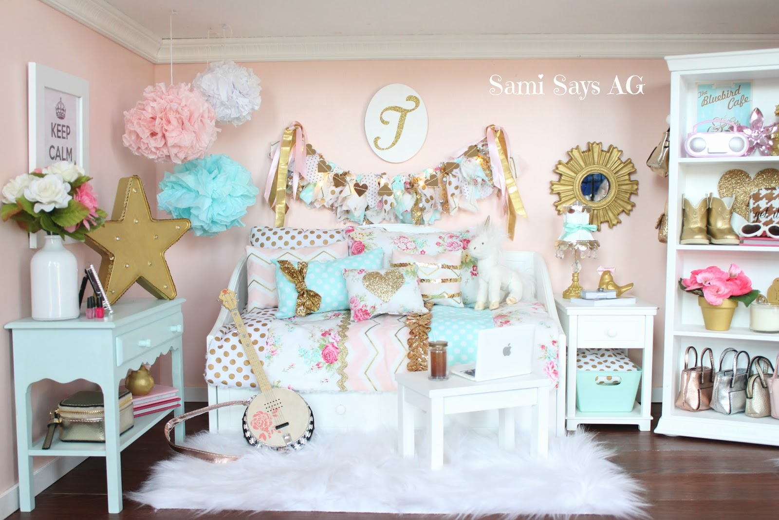 Sami Says AG: American Girl Tenney Grant\'s Doll House Room